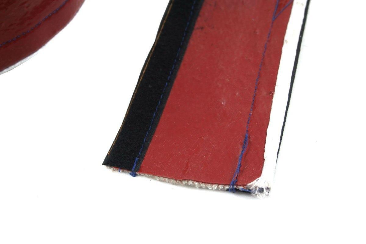 Osłona Termiczna przewodów red 10mm 100cm - GRUBYGARAGE - Sklep Tuningowy